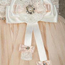 Rochie Princess Ama - Powder