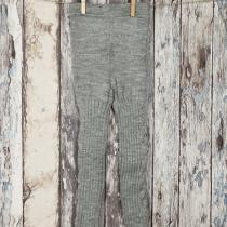 Pantaloni tricotati gri