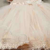 Rochie Princess Tara - Powder
